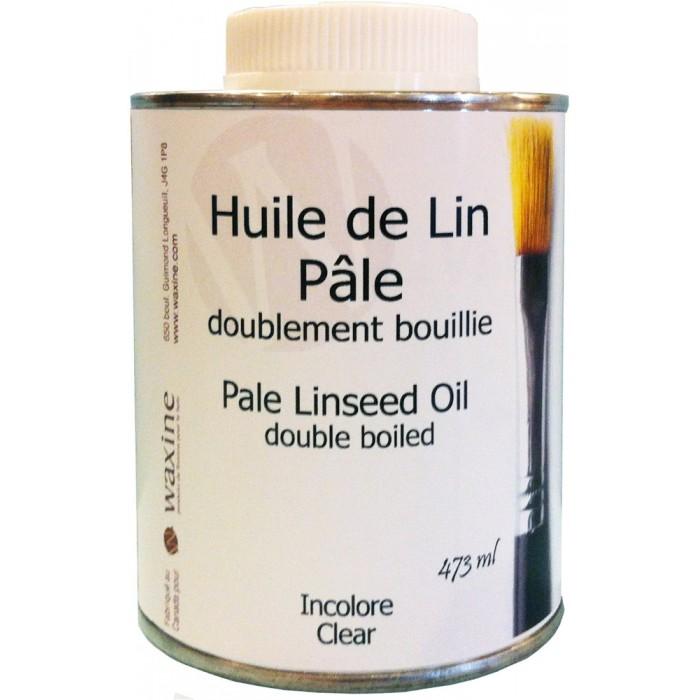 Huile de lin doublement bouillie pâle 473 ml #62120-500